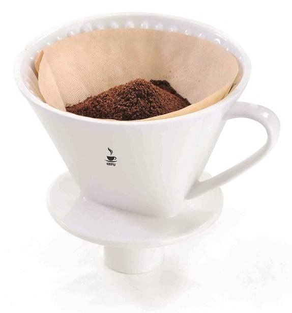 Kaffeefilter Porzellan 4 Sandro 16020