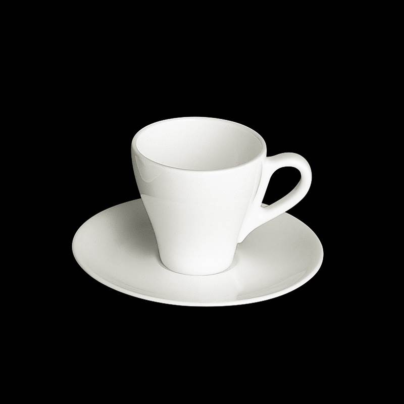 dibbern fine bone china weiss kaffeetasse mit untere classico 0 25 ltr. Black Bedroom Furniture Sets. Home Design Ideas