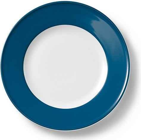 dibbern solid color teller flach 21 cm fahne pazifikblau. Black Bedroom Furniture Sets. Home Design Ideas