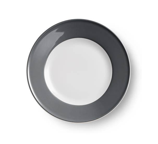 dibbern solid color teller flach 19 cm fahne anthrazit. Black Bedroom Furniture Sets. Home Design Ideas