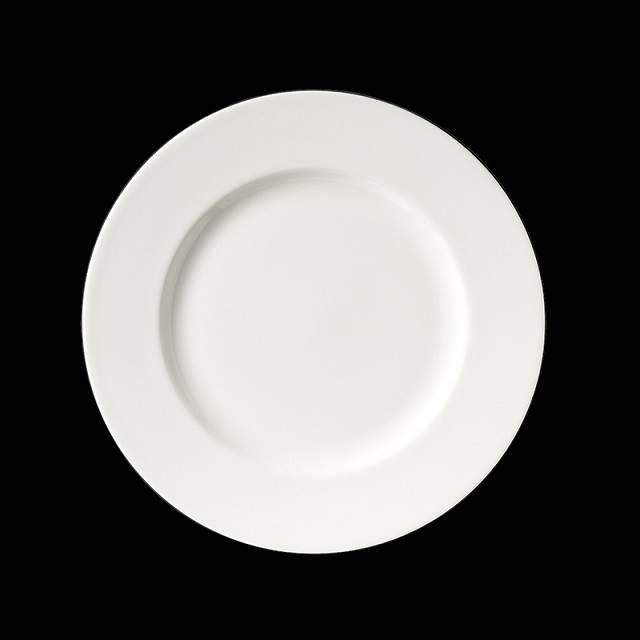 dibbern fine bone china weiss teller flach 28cm classic. Black Bedroom Furniture Sets. Home Design Ideas