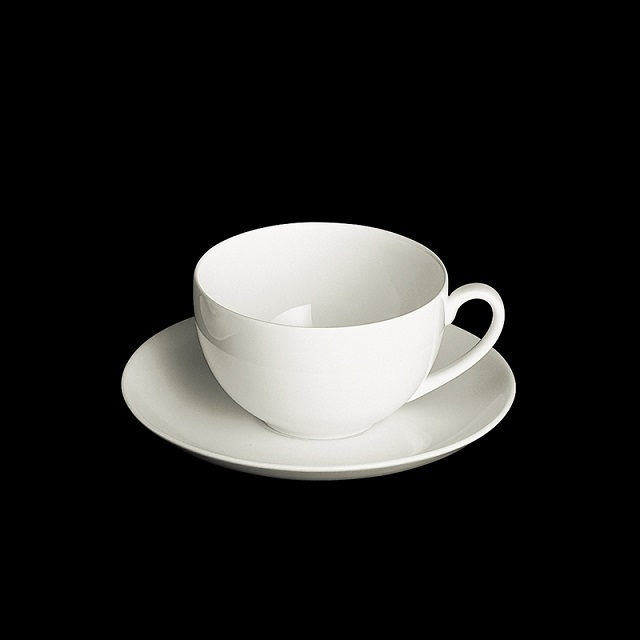 dibbern fine bone china weiss kaffeetasse 0 25ltr mit unt. Black Bedroom Furniture Sets. Home Design Ideas