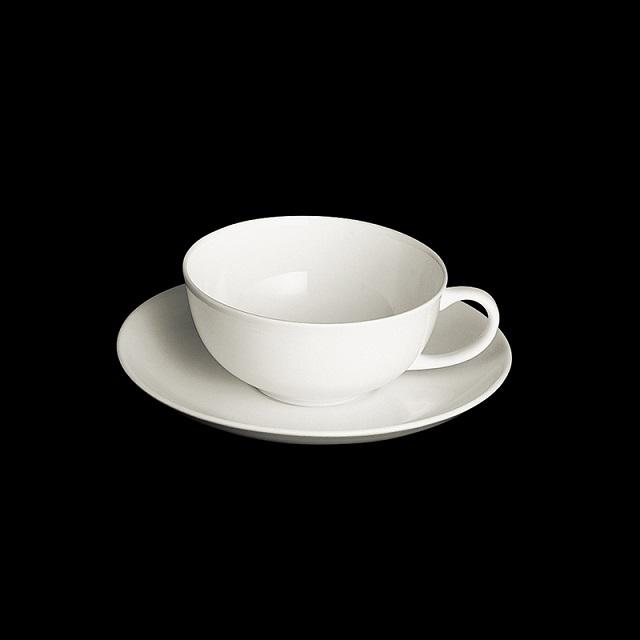 dibbern fine bone china weiss teetasse 0 2ltr mit untere classic. Black Bedroom Furniture Sets. Home Design Ideas