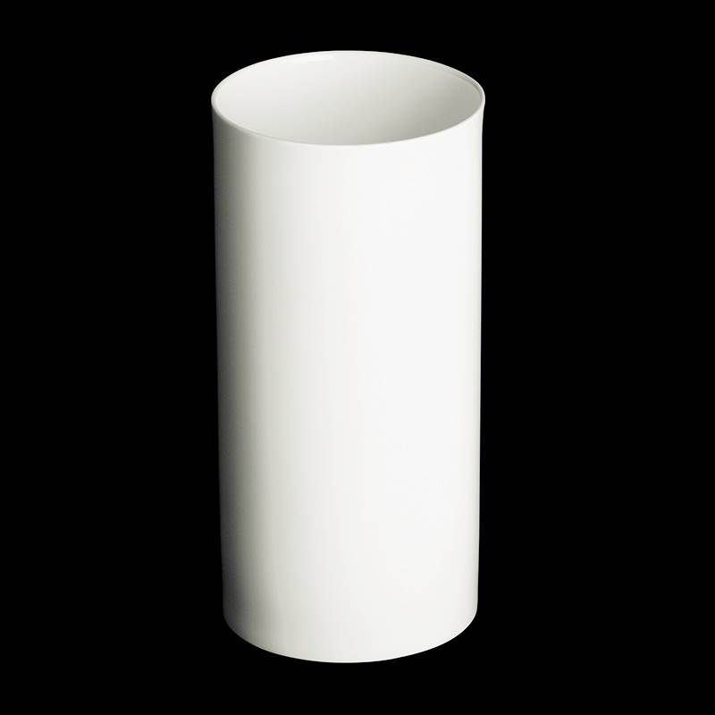 dibbern fine bone china weiss vase zylindrisch 29 cm. Black Bedroom Furniture Sets. Home Design Ideas
