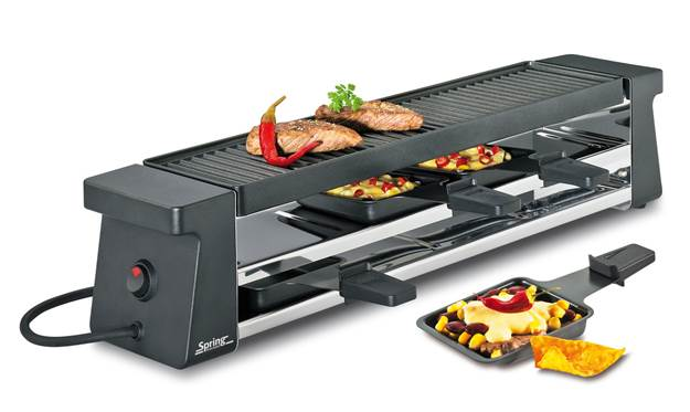 Spring Raclette 4 Compact schwarz 30 3900 70 01