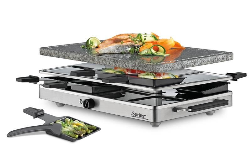 Raclette Raclette8 classic mit Granitsteinplatte