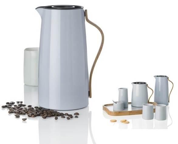Emma Isolierkanne - Kaffee 1,2 ltr. hellblau