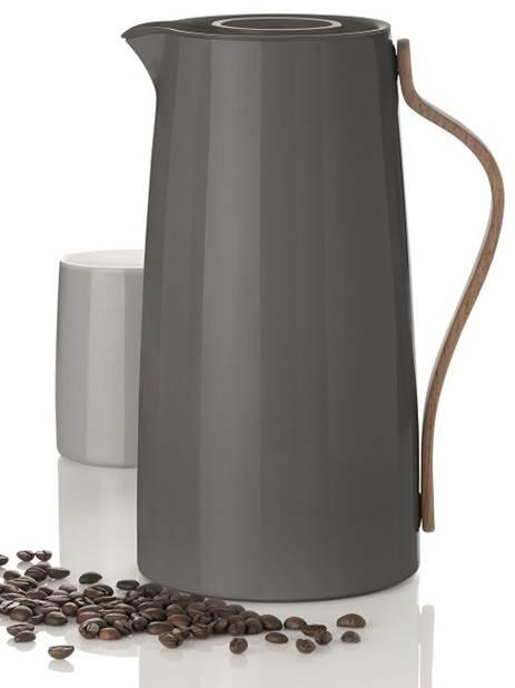 Emma Isolierkanne Kaffee 1,2 ltr. grau