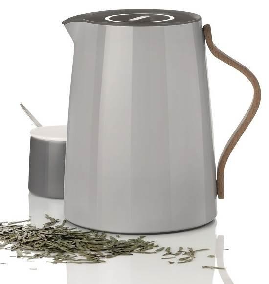 stelton Emma Isolierkanne Tee 1,0 ltr. grau x-201-1