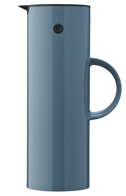 stelton isolierkanne dusty blue. Black Bedroom Furniture Sets. Home Design Ideas