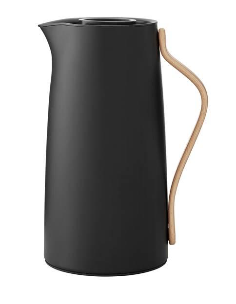 Emma Isolierkanne Kaffee 1,2 ltr. matt schwarz limitiert