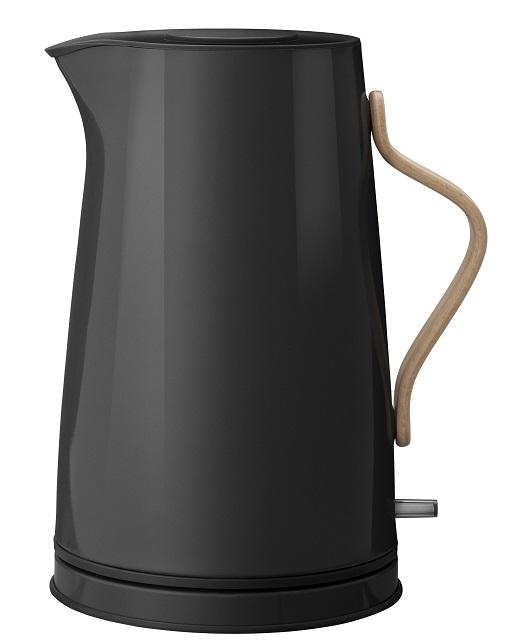 elektrischer Wasserkocher Emma schwarz