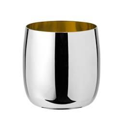 stelton Foster Weinbecher 0,2 ltr stahl-golden