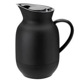 stelton Amphora Isolierkanne Thermoskanne Kaffee 1 ltr soft black