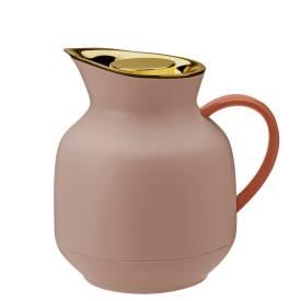 stelton Amphora Isolierkanne Thermoskanne Tee 1 ltr soft peach