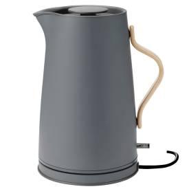 stelton elektrischer Wasserkocher Emma grau matt