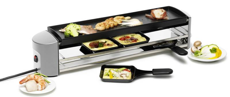 Cheeseboard Grill Raclette silber 0007.72
