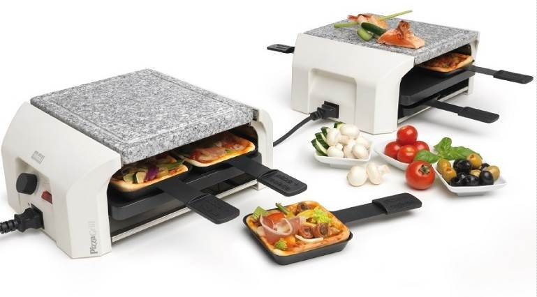 PizzaGrill Four Four HotStone Set 0025.92HS