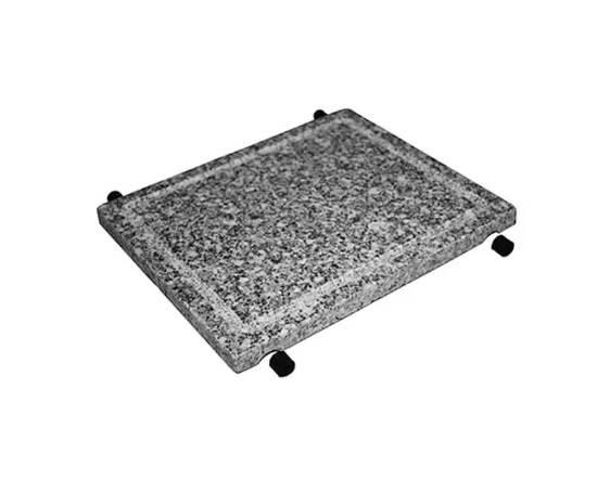 Hot Stone Grillplatte aus Stein mit H�lsen 0025.056