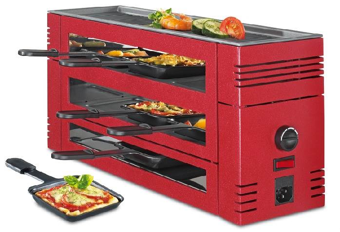 Pizza Raclette 6 rot