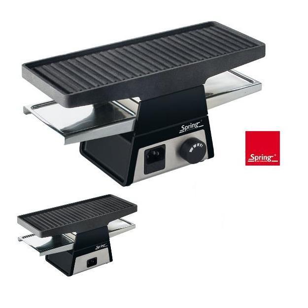 spring raclette 2plus schwarz basismodul. Black Bedroom Furniture Sets. Home Design Ideas