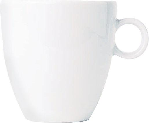 Alessi Kaffee-Obertasse Bavero weiss TAC1/87