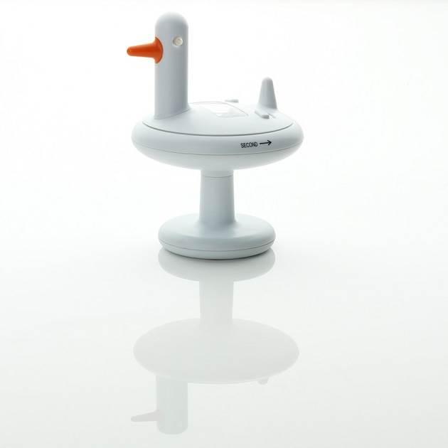 alessi Duck Timer Küchentimer AEA05 W