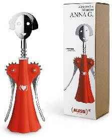 Alessi Anna G Korkenzieher Product Red AM 01 RED