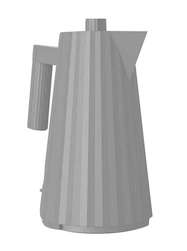 elektrischer Wasserkocher Plisse grau MDL06 G