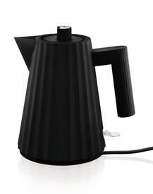 alessi elektrischer Wasserkocher Plisse schwarz klein MDL06/1