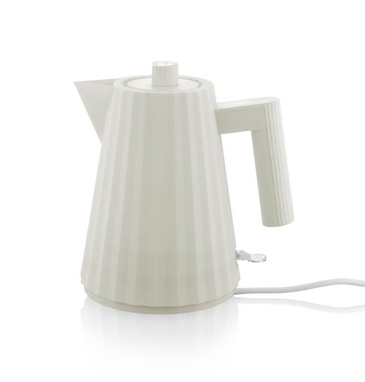 elektrischer Wasserkocher weiss klein Plisse MDL06/1 W