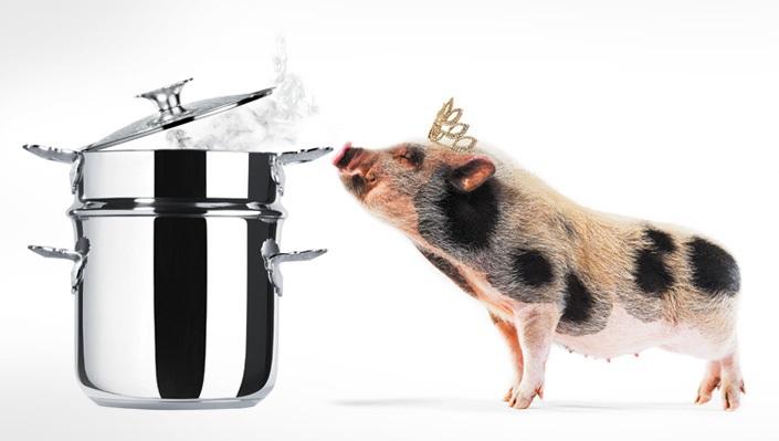 Alessi und das Schwein